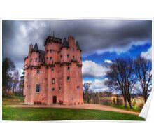 Craigievar Castle Poster