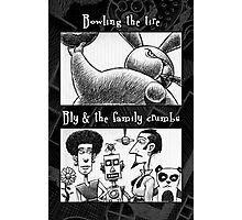 Bowling Tire/Family Crumbs Photographic Print