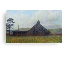 cherry creek historic barn Canvas Print