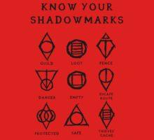 Know Your Shadowmarks (Dark) Kids Tee