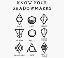 Know Your Shadowmarks (Dark) One Piece - Short Sleeve
