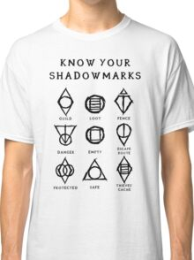 Know Your Shadowmarks (Dark) Classic T-Shirt