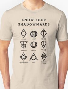 Know Your Shadowmarks (Dark) Unisex T-Shirt