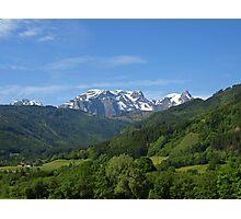 Gorgeous Austrian Alps. Photographic Print