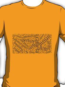 Photography Word Cloud T-Shirt