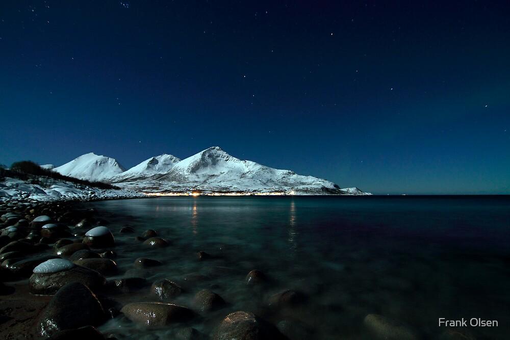 Icy coast by Frank Olsen