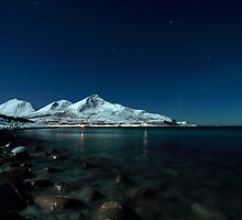 Icy coast by Frank Olsen