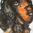 Faces, Bernard Lacoque-77 by ArtLacoque