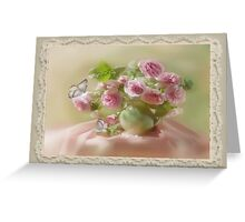 Nocturne in pink tones Greeting Card