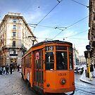 Tram in Milan by Stephen Knowles