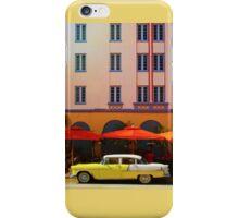 Miami South Beach, Art Deco iPhone Case/Skin
