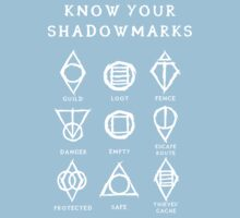 Know Your Shadowmarks (Light) One Piece - Short Sleeve