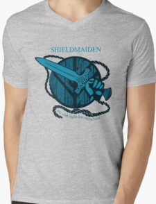 shieldmaiden - WE CAN FIGHT FOR OURSELVES Mens V-Neck T-Shirt