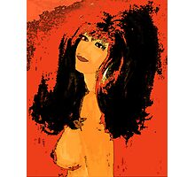 Pinup girl Photographic Print