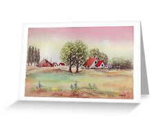 SUMMER MORNING - AQUAREL Greeting Card