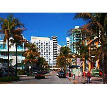 South Beach Miami, Florida Photographic Print