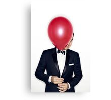 Jimmy Fallon with Red Balloon Canvas Print