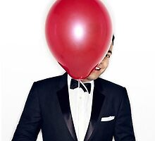 Jimmy Fallon with Red Balloon by FallonDowneyJr