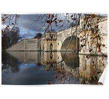 Blenheim Palace bridge Poster