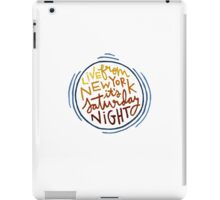 Live From New York iPad Case/Skin