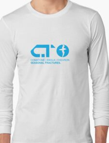 COMATONE - Seasonal Fractures LOGO Long Sleeve T-Shirt