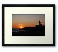 Eastern Point Sunset - Gloucester, Massachusetts Framed Print