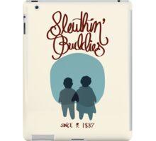Sleuthin' Buddies ( Sherlock and Watson Besties ) iPad Case/Skin