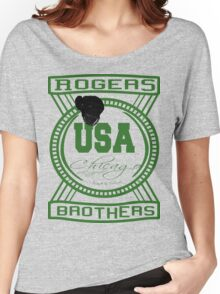 usa chicago by rogers bros Women's Relaxed Fit T-Shirt
