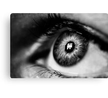 Hope- Black and White Canvas Print