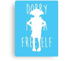 Dobby is a free elf Canvas Print