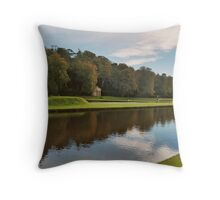 Studley Royal Water Garden Throw Pillow