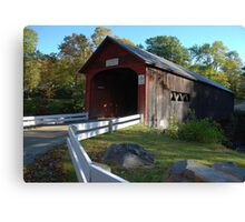 Green River Covered Bridge - Guilford, Vermont Canvas Print