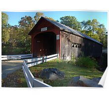 Green River Covered Bridge - Guilford, Vermont Poster