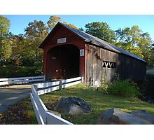 Green River Covered Bridge - Guilford, Vermont Photographic Print