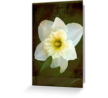 Springs Beauty © Greeting Card