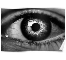 I'm Watching You- Black and White Poster