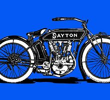 Dayton Motorcycle by Kawka