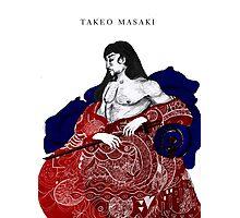 Takeo The Samurai Photographic Print