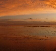 Island sunset by lcm75
