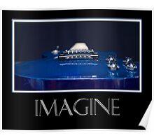 Imagine - Blue Guitar Poster