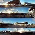 Alameda Ferry Port, August 2015 by Laura Puglia