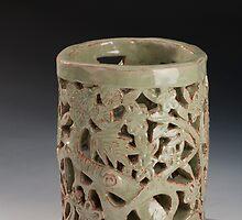 Asian Lantern  by Jennifer Karbula