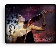 Lillies Sonata Canvas Print