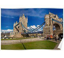 Tower Bridge: London, UK. Poster