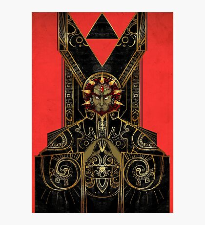 Ganondorf The Demon King Photographic Print