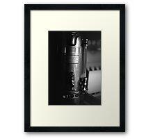 Presidential Coffee Maker Framed Print