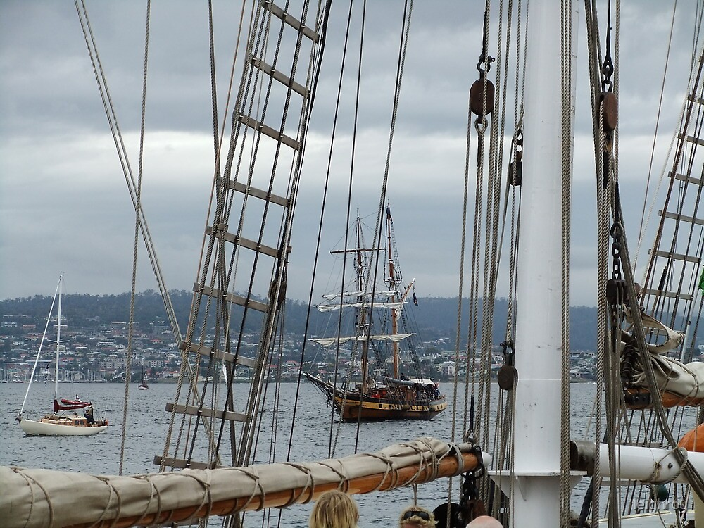 Through the Rigging by leighroy