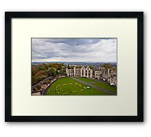 Court Yard Dudley Castle England Framed Print