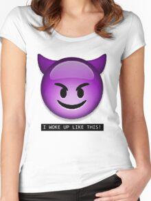 Woke Up W Women's Fitted Scoop T-Shirt