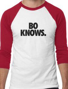 BO KNOWS. Men's Baseball ¾ T-Shirt
